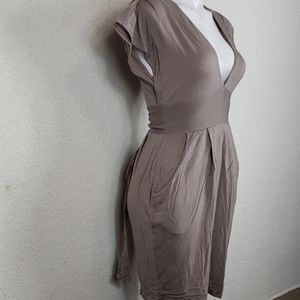 Wilfred light brown dress size small